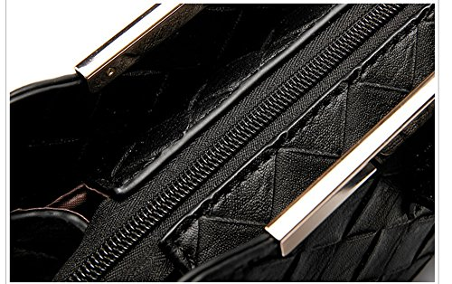 Versione coreana dello zaino obliquo della spalla, borse, catena piccola borsa quadrata, mini pacchetto semplice selvatico delle signore ( Colore : Nero ) Verde