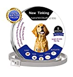 ProHomer Pest Control Collars, Flea and Tick Collars for Dogs, Safe Natrual Hypoallergenic