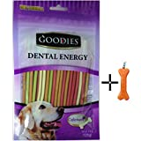 #4: Goofy Tails -Goodies Mix flavour Dental Energy Dog Stix 125 g (Pack Of 4)