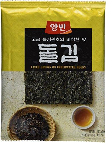 Dongwon Seetang, geröstet, gewürzt, 5er Pack (5 x 20 g Packung) (Seetang-blätter Für Sushi)