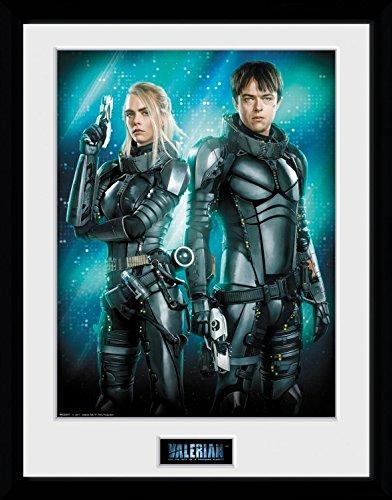 Preisvergleich Produktbild 1art1 106734 Valerian – Die Stadt Der Tausend Planeten - Duo Gerahmtes Poster Für Fans Und Sammler 40 x 30 cm