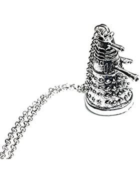 Charm Buddy Charm-Anhänger Dr Doctor Who 3D Dalek Anhänger Halskette
