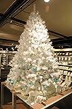 Weißer Weihnachtsbaum Christbaum weiss inkl. Ständer - 180 cm - Weiß DESIGN - von matrasa