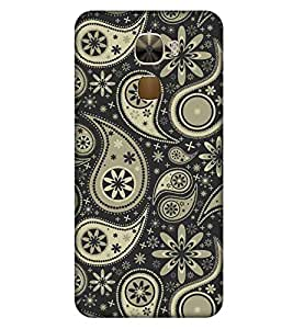 For LeEco Le Pro3 :: LeTV Le Pro 3 traditional design, black background Designer Printed High Quality Smooth Matte Protective Mobile Case Back Pouch Cover by APEX