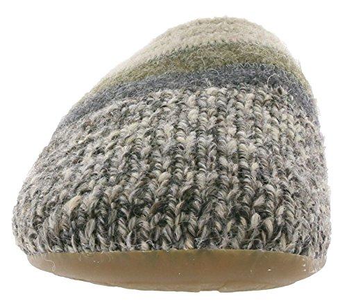 Haflinger 481045 Everest Just Pantofole donna uomo Grau
