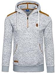 BOLF - Pull - Tricot – Sweatshirt á capuche - T&C STAR 1557 - Homme