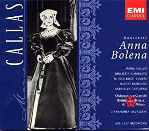 Gaetano Donizetti: Anna Bolena (ital. Gesamtaufnahme, Live Mailänder Scala, 14.4.1957)