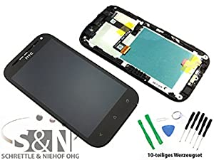NG-Mobile Original HTC ONE SV Display Touchscreen LCD Rahmen Glas Digitizer schwarz