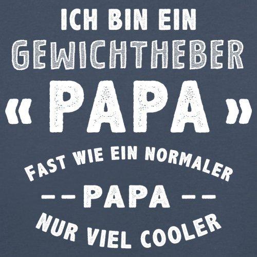 Ich bin ein Gewichtheber Papa - Herren T-Shirt - 13 Farben Navy