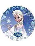 Disque azyme Elsa La Reine des Neiges 20.5 cm