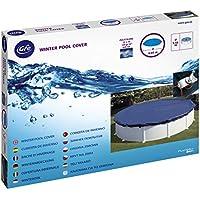 Gre CIPR351 - Cubierta de invierno para piscinas redondas, Ø4.4 m, 120 gr/m²