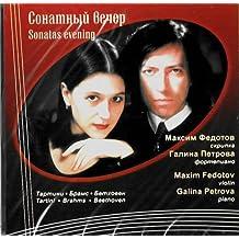 Maksim Fedotov, Galina Petrova. Sonatnyj vecher