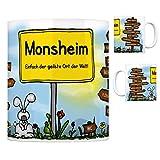 Monsheim Rheinhessen - Einfach die geilste Stadt der Welt Kaffeebecher