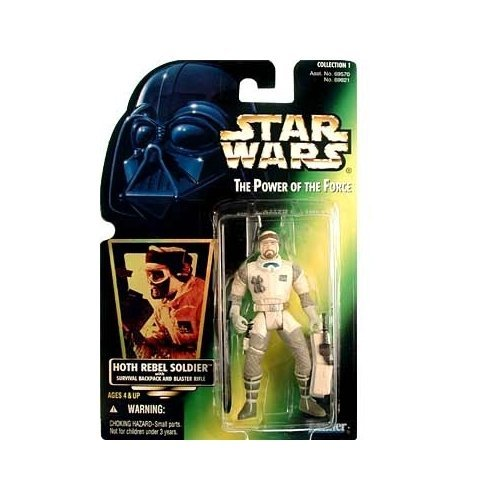 Figura Star Wars Hoth Rebel Soldier with Backpack and Blaster Rifle