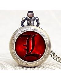 ShopyStore 222 Popular Nightmare Before Christmas Vintage Quartz Pocket Watch Necklace Pendant For