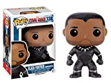 Funko - 138 - Pop - Marvel - Captain America 3 - Black Panther Unmasked