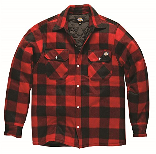 nuovo-da-uomo-portland-polar-in-pile-casual-design-elegante-adulti-top-red-large