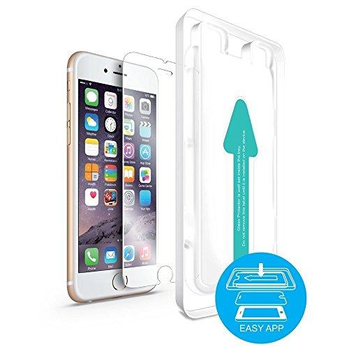 dok protektor Panzerglas passend für iPhone 6/6s Displayschutzfolie - 9H Härte, extrem Kratzfest, Hartglas, 3D Touch, Anti-Öl, präzise Installation