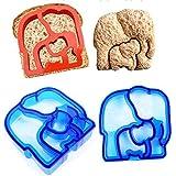 Pinkdose® Butterfly: 1 Pcd Hot Sandwich Mold Cutter Bear Car Dog Teris Shape Baking Cake Bread Toast Mould Maker