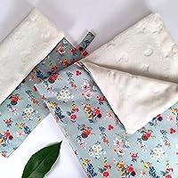 Pack Manta 100x70 cms Otoño Beige + Mantita de Apego