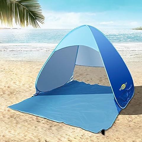 Sun Shelter Pop Up Tent UV 50+ Sun Protective Lightweight Small Tent for Outdoor Sea Beach Garden for Kids Single 1