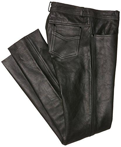 Roleff Racewear Lederhose, Schwarz, 40