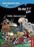Die drei ??? Kids, Bücherhelden, Hilfe, Geisterzug! - Ulf Blanck