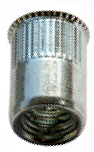 Buchschrauben-Schraubnieten-Chicagoschrauben 10x4,5mm 10 Stück vernickelt