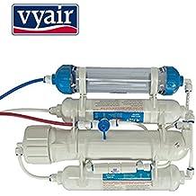 Compacto 4etapa de ósmosis inversa filtro de agua incluida di resina etapa para estanque