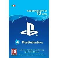 PlayStation Now - Abbonamento 12 Mesi | Codice download per PS4 - Account italiano