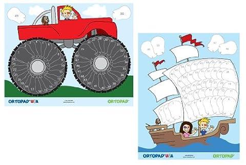 Colmatage garçon-récompense Posters : 1 bateau Pirate, 1 Poster Poster Monster Truck