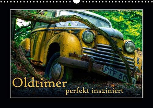 ziniert (Wandkalender 2020 DIN A3 quer): Bilder verschiedener, teils ausgedienter Oldtimer (Monatskalender, 14 Seiten ) (CALVENDO Mobilitaet) ()
