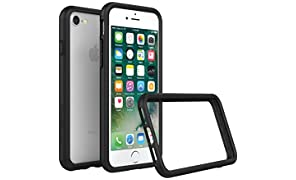 RhinoShield iPhone 8/iPhone 7 Bumper Case [CrashGuard by Shock Absorbent Slim Design Protective Cover [3.5M/11ft Drop Protection] - Black