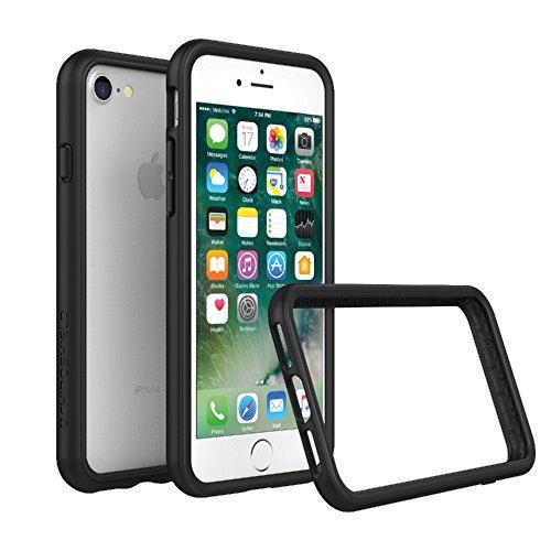 iPhone 8 / iPhone 7 Bumper Case [RhinoShield CrashGuard] | Schock Absorbierende Schutzhülle mit minimalistischem Design [3,5 Meter Fallschutz] – Schwarz