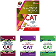CAT Test Prep Series by Arun Sharma (Set of 4 books)