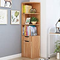 KKCD - Bookshelves Living Room Bookcases Bookshelf Creative Floor Shelves Multi-function Book Shelves Cabinet Combination Living Room Storage Shelf (Color : A)