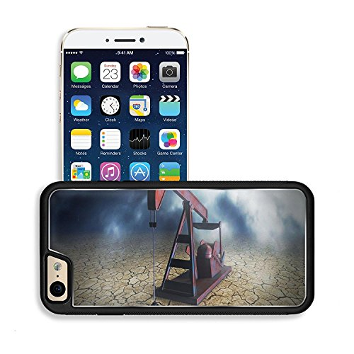 luxlady-premium-apple-iphone-6-iphone-6s-aluminium-snap-case-one-pumpjack-on-arid-ground-concept-of-