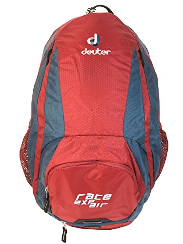 Deuter Race EXP Air Mochila para Ciclismo, Unisex Adulto, Rojo (Cranberry/Arctic), 12 l