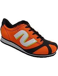 Nalini - Zapatillas de Material Sintético para hombre naranja naranja