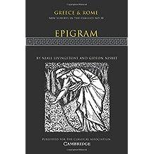 Epigram (New Surveys in the Classics)