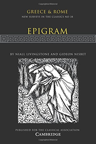 Epigram: Volume 38 Paperback (New Surveys in the Classics)