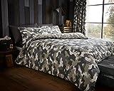 Luxury & modernen Armee Camouflage/Bettbezug und Kissenbezüge Bettwäsche-Set, bedruckt, Serie, 50 % Baumwolle / 50 % Polyester, grün, King Size