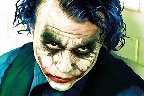 GREAT ART Póster Joker Mural Decoración Heath Ledger