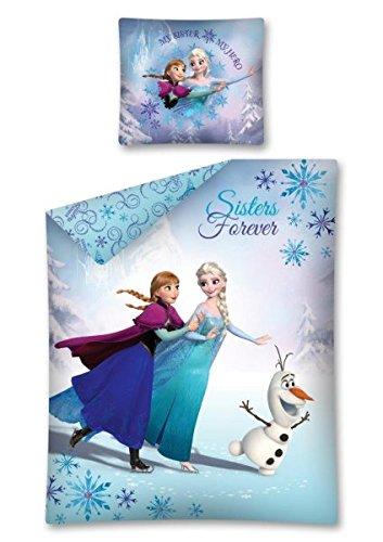 Disney - Juego de cama con funda nórdica, diseño de Frozen