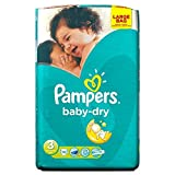 Pampers Baby Dry Taille 3 Midi 4-9kg (70) - Paquet de 6