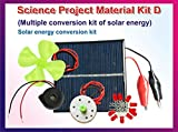 StepsToDo (with device) Science Project Material - Set D. Solar Energy Conversion Kit with Activity Manual