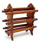 IndiaBigShop Raksha Bandhan cadeau Bangle support en bois, Eight Rods Pliable Bangle stand,