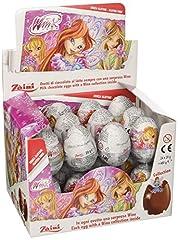 Idea Regalo - Zaini Ovetto di Cioccolato con Sorpresa Winx - Confezione da 24 x 20 g