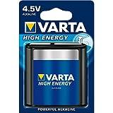 Varta Batería Alcalina 3Lr12 Bloque, 4.5V De Alta Energía, Menor De La Ampolla (1-Pack)