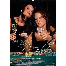 Play, Girls! Der Casino-KalenderAT-Version  (Wandkalender 2015 DIN A2 hoch): Kalender mit Claudia und Rebecca (Monatskalender, 14 Seiten)
